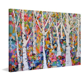 Marmont Hill - Handmade Autumn Equinox Print on Wrapped Canvas