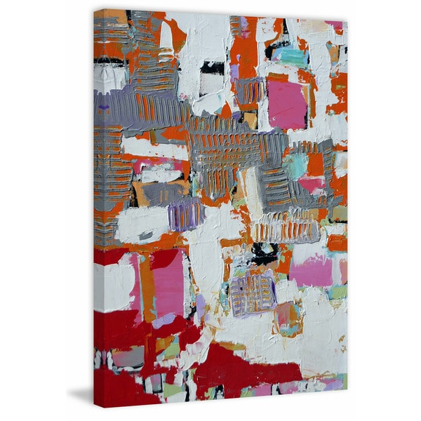 Encrypted' Painting Print on Wrapped Canvas