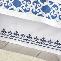 Dena Atelier Indigo Dream Bed Skirt