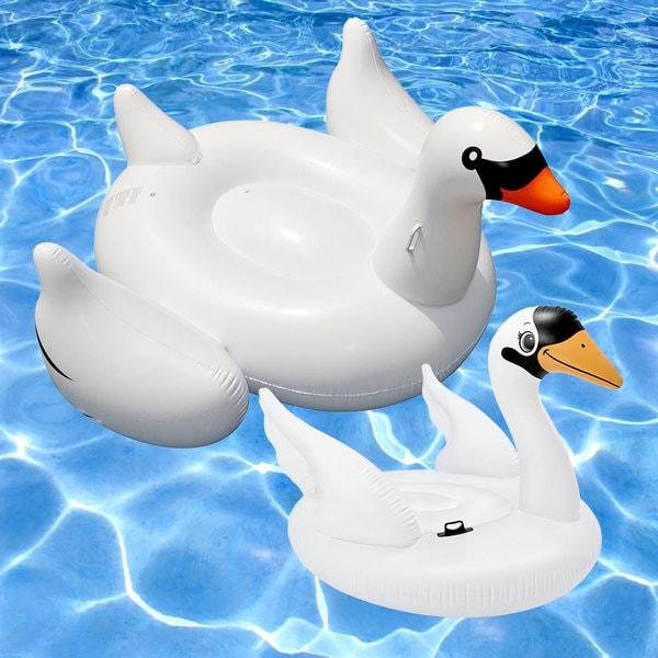Swan Swimming Pool Float 2-Pack