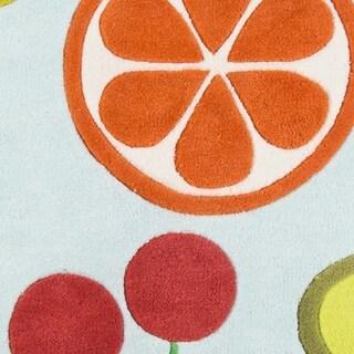"Novogratz by Momeni Lulu Vintage Fruit Rug (3'6"" x 5'6') - 3'6"" x 5'6"""