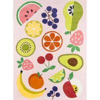 "Novogratz by Momeni Lulu Vintage Fruit Polyester Hand Tufted Rug - 7'6"" x 9'6"""
