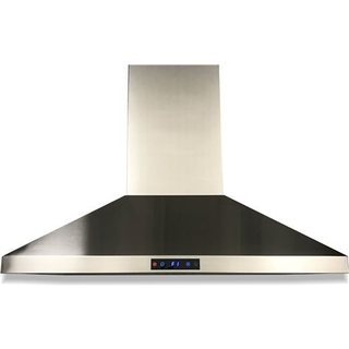 Akdy 30 Inch Wall Mount Stainless Steel Kitchen Vent Range