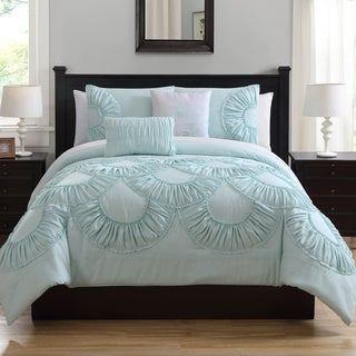 Toulouse Ruffled Comforter Set