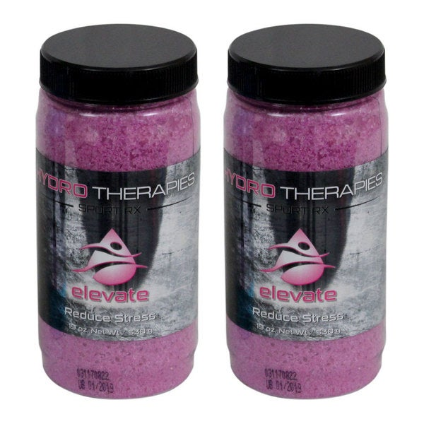 HYDRO Therapy Sport RX Spa and Bath Aromatherapy for Spas, Hot Tubs, and Whirlpool Baths 2-Pack