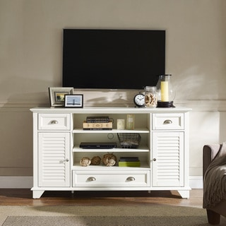 Palmetto White 60-inch Full-size TV Stand