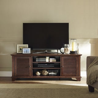 "Palmetto 60"" Low Profile TV Stand in Mahogany"