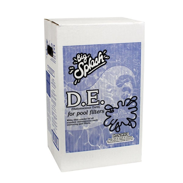 Splash D.E. for Swimming Pool Filters, 12-Pounds
