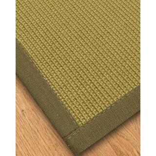 Handcrafted Devon Natural Sisal Rug Malt Binding - 4' x 6'