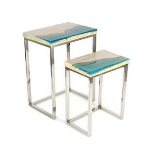 Benzara End Tables (Set of 2)
