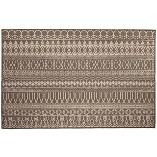 RUGGABLE Washable Indoor/Outdoor Stain Resistant Pet Accent Rug Cadiz Espresso (3' x 5') - 3' x 5'