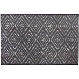 RUGGABLE Washable Stain Resistant Pet Accent Rug Prism Grey - 3' x 5'