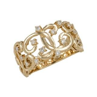 "Antwerp's Fashion ""Intertwined"" Diamond Ring"