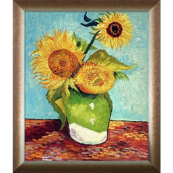 Shop Vincent Van Gogh Sunflowers First Version Hand Painted
