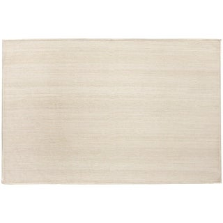 RUGGABLE Washable Indoor/ Outdoor Stain Resistant Pet Accent Rug Solid Textured Cream (3' x 5') - 3' x 5'