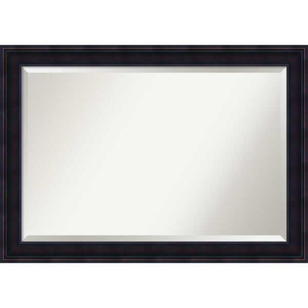 Bathroom Mirror Extra Large, Annatto Mahogany 41 X 29 Inch   Free Shipping  Today   Overstock.com   21804175