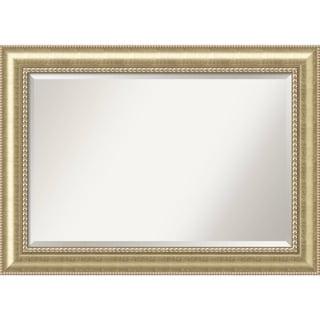 Bathroom Mirror Extra Large, Astoria Champagne 43 x 31-inch