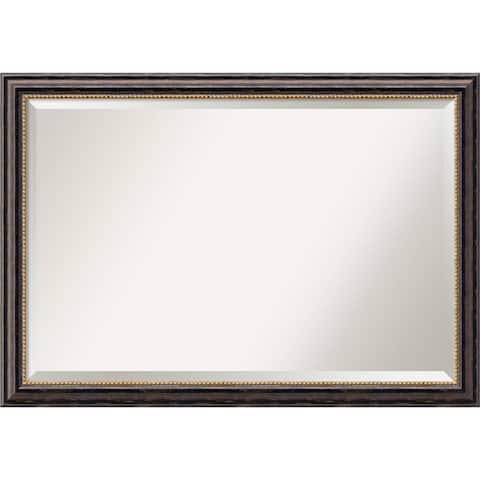 Wall Mirror Extra Large, Tuscan Rustic 40 x 28-inch - extra large - 40 x 28-inch