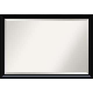 Wall Mirror Extra Large, Steinway Black Scoop 39 x 27-inch