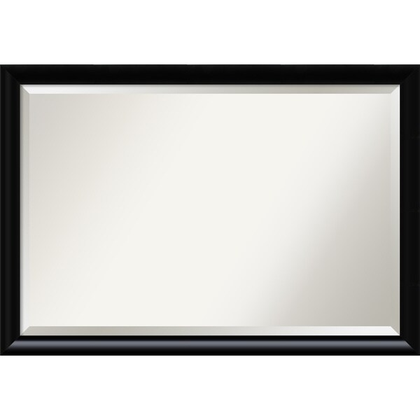Wall Mirror Extra Large, Steinway Black Scoop 39 x 27-inch - extra large - 39 x 27-inch
