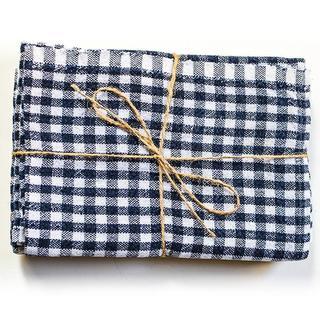 Caravan Gingham Tea Towels Set of 2