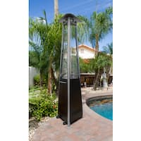 Hiland Glass Tube Natural Gas Patio Heater