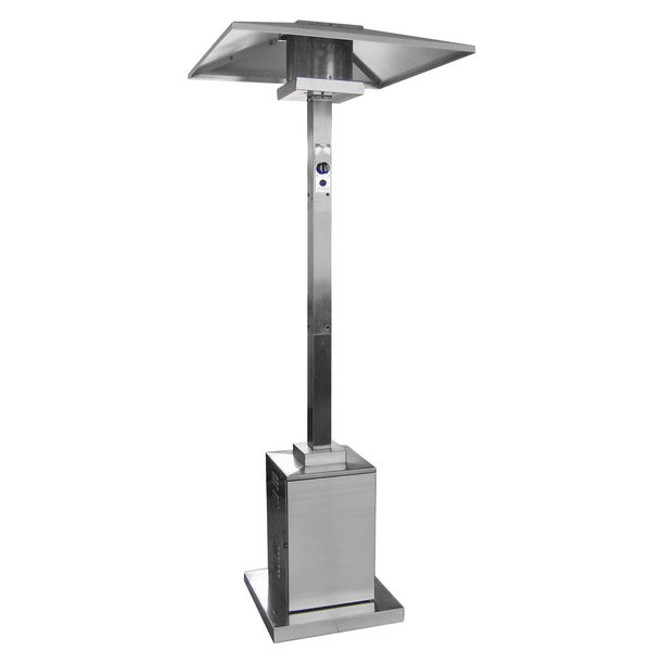 Hiland Commercial Square Patio Heater In Stainless Steel
