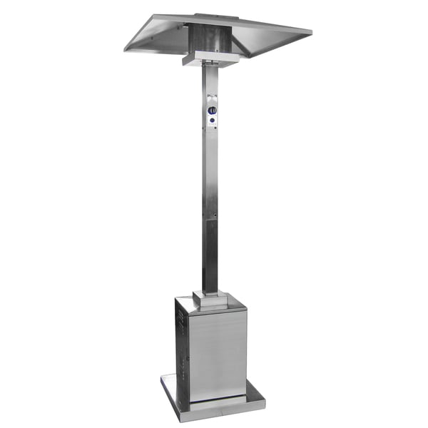 Beau Hiland Commercial Square Patio Heater In Stainless Steel