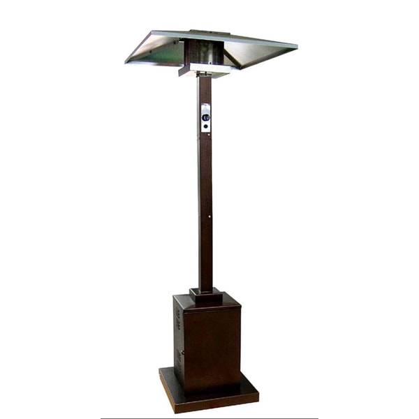 Hiland Commercial Square Patio Heater In Hammered Bronze