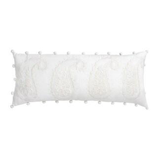 Dena Atelier Somerset Paisley Bolster Decorative Throw Pillow