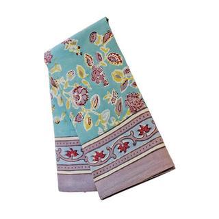 Couleur Nature Joy Grey and Aqua Tea Towels Set of 3