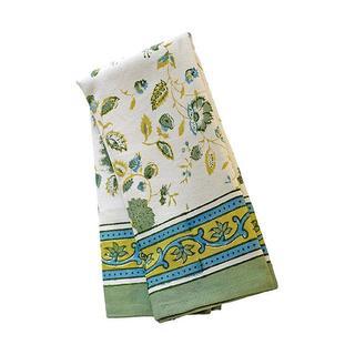 Couleur Nature Joy Green and Blue Tea Towels Set of 3