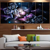 Designart 'Glowing Bouquet of Beautiful Roses' Abstract Wall Art on Canvas