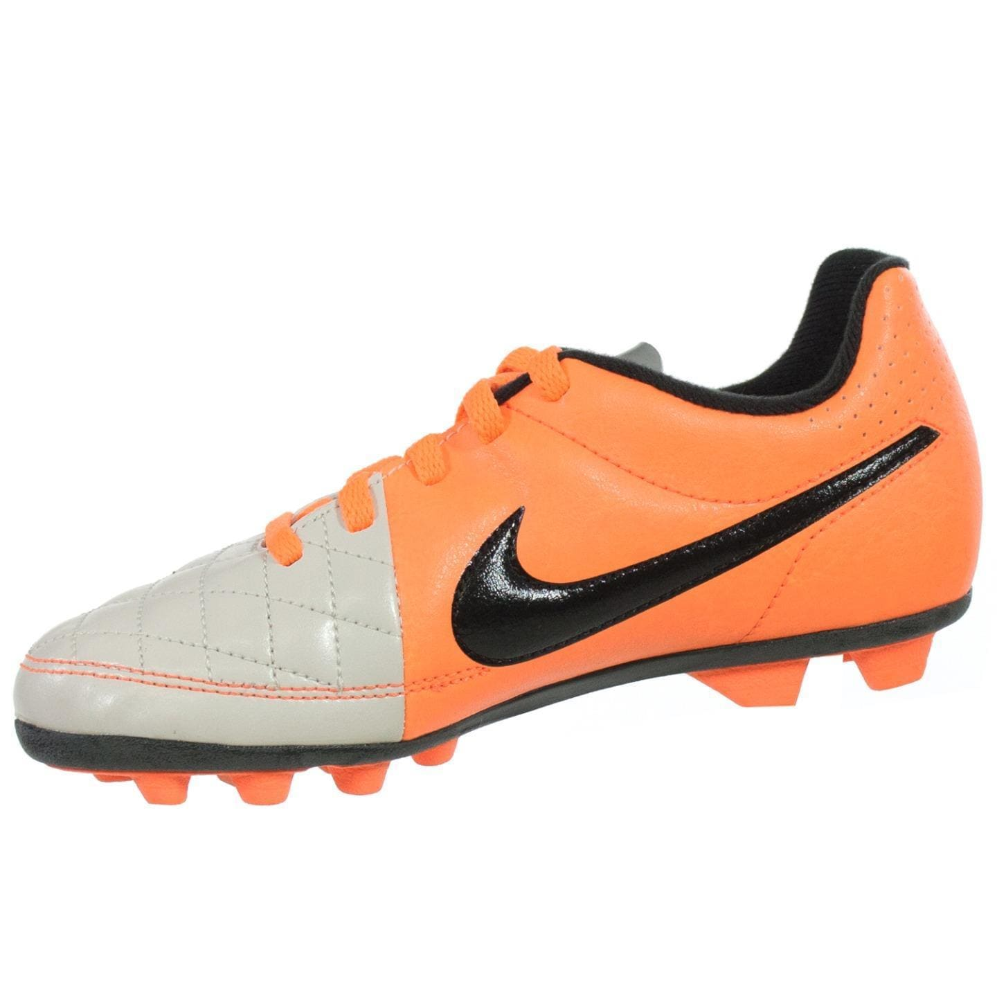 best service b81a3 41d81 Shop NIKE JR TIEMPO RIO II FG-R Youth Molded Soccer Cleats - Free Shipping  Today - Overstock - 15341553