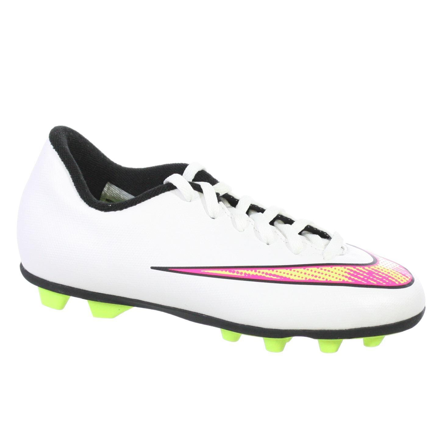 Nike JR Mercurial Vortex II FG-R Youth Soccer Cleat (1.5)...