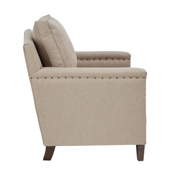 Super Shop Madison Park Lotte Natural Espresso Accent Chair Machost Co Dining Chair Design Ideas Machostcouk
