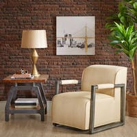 Madison Park Oliver Natural Accent Chair