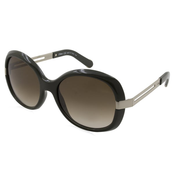 201a4ca9d5b92 Shop Chloe - CE662S-303 Brown 55 mm Round Sunglasses - Free Shipping Today  - Overstock - 15341693