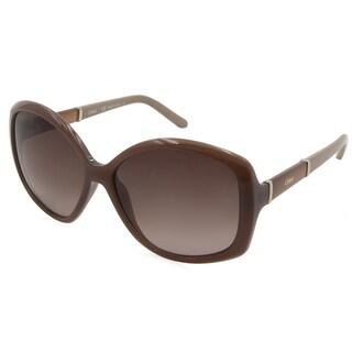 Chloe - CE663S-248 Red 58 mm Round Sunglasses