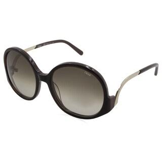 Chloe - CE707S-210 Green 57 mm Round Sunglasses
