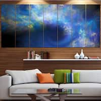 Designart 'Perfect Whirlwind Starry Sky' Abstract Wall Artwork