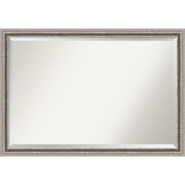 Bathroom Mirror Extra Large, Bel Volto Silver 39 x 27-inch - 27 x 39 x 1.462 inches deep