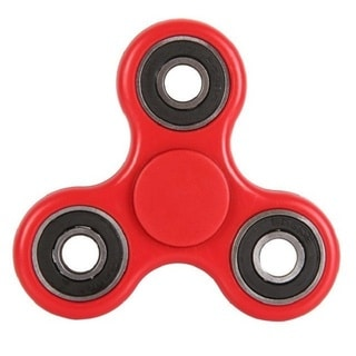 Fidget Red & Black Spinner Stress & Anxiety Reducer
