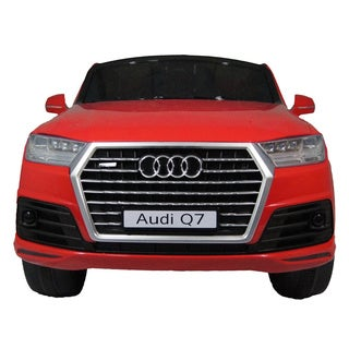 Best Ride on Cars Audi Q7 Red 12V Toy