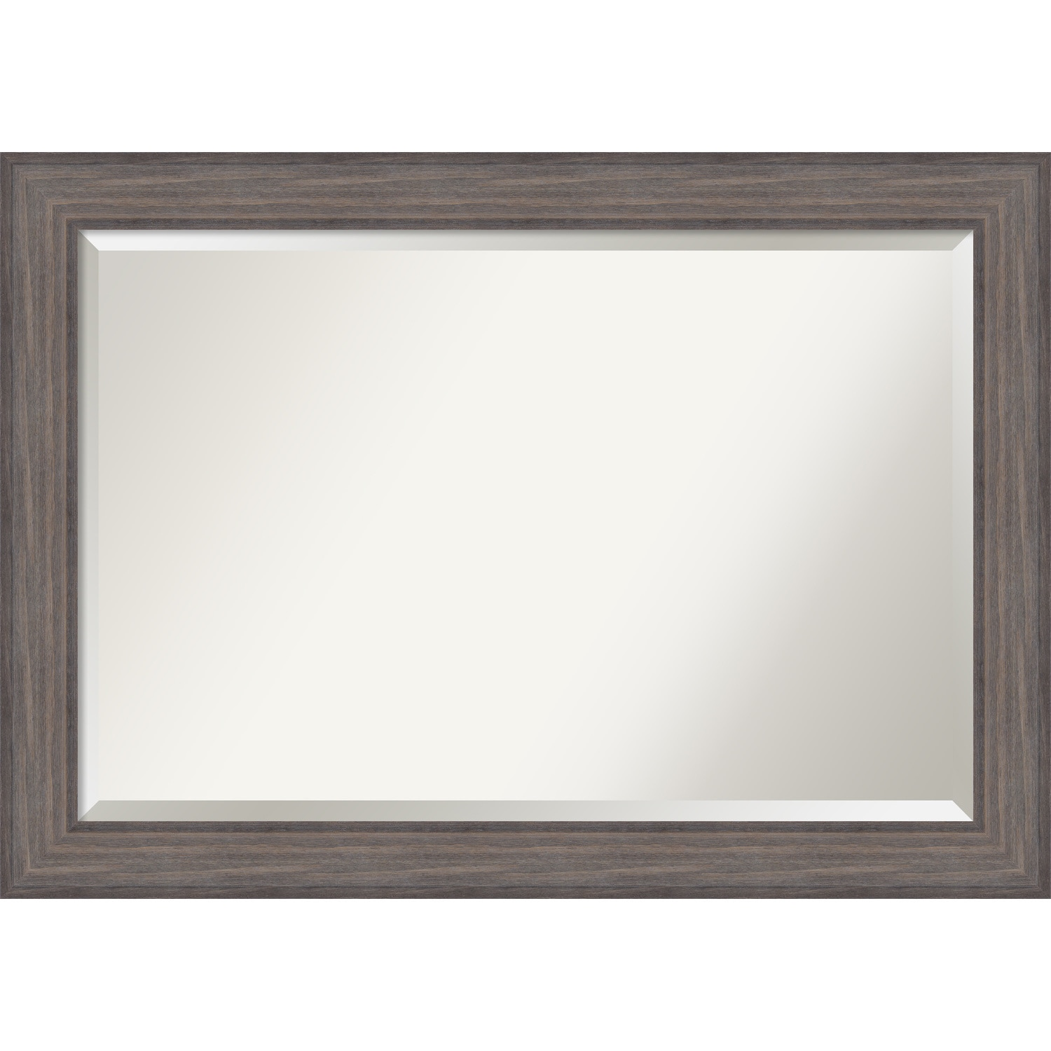 Bathroom Mirror Extra Large Country Barnwood 42 X 30 Inch Grey 29 25 41 0 741 Inches Deep