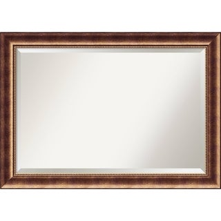 Bathroom Mirror Extra Large, Manhattan Bronze 42 x 30-inch - 29.38 x 41.38 x 1.098 inches deep