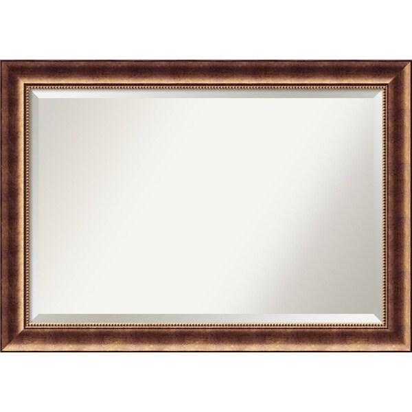 Bathroom Mirror Extra Large, Manhattan Bronze 42 x 30-inch - 29.38 x 41.38 x 1.098 inches deep
