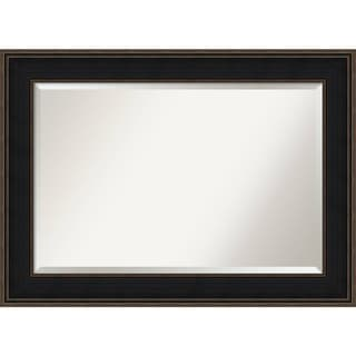 Bathroom Mirror Extra Large, Mezzanine Espresso 44 x 32-inch - Brown - 31.62 x 43.62 x 1.136 inches deep