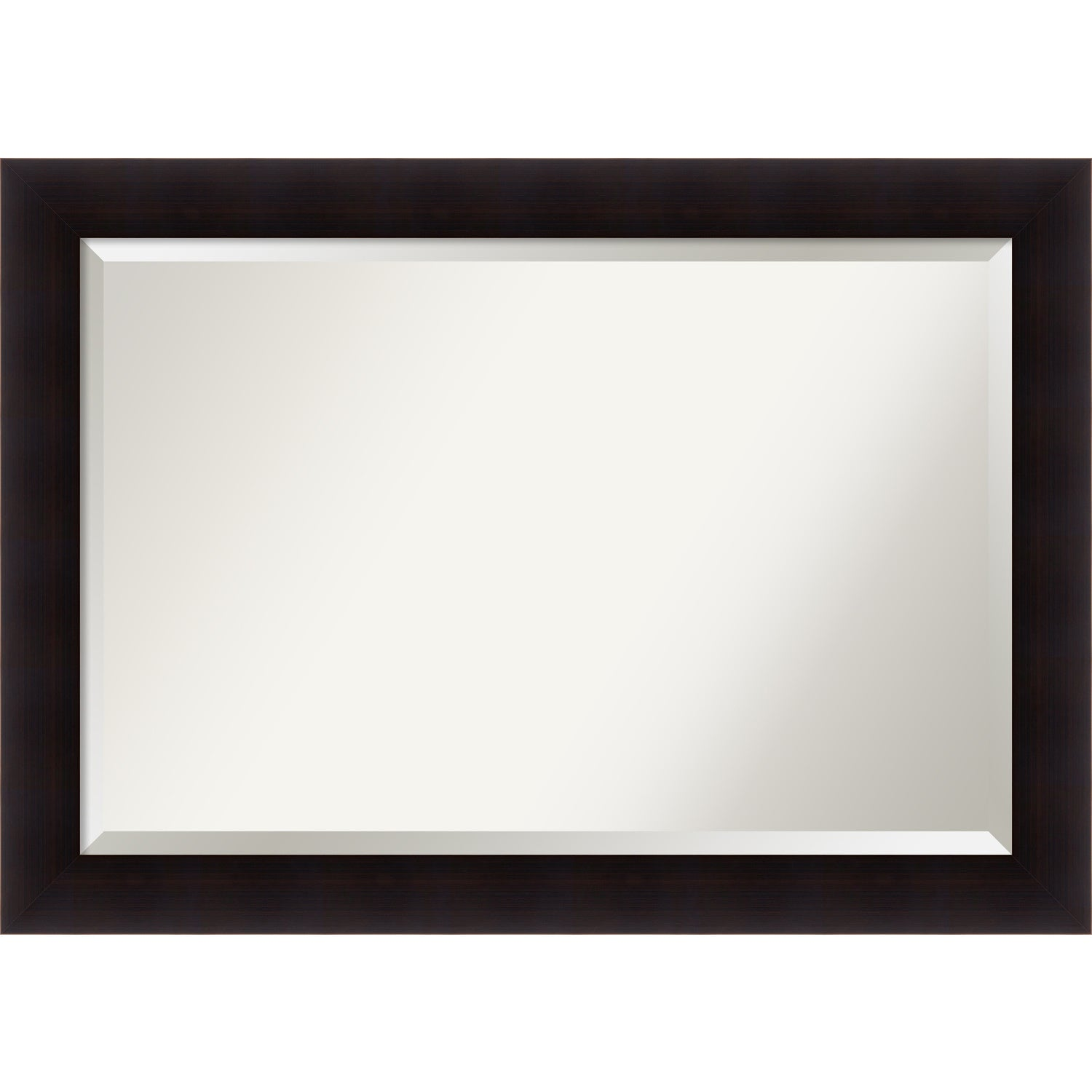 Bathroom Mirror Extra Large Portico Espresso 42 X 30 Inch Brown 29 75 41 0 862 Inches Deep