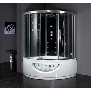 Ariel Platinum Steam Shower and Whirlpool Bathtub